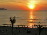 China beach sunrise
